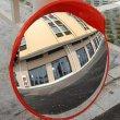画像5: カーブミラー 直径60cm 屋外用 ガレージミラー 事故防止 車庫 路地 駐車場 鏡 送料無料 お宝プライス ###カーブミラGJJ-60橙### (5)
