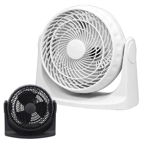 画像1: サーキュレーター 卓上 扇風機 送風機 送風扇 空気循環機 ファン 風量切替 角度調節可 小型 節電 洗濯物 乾燥 熱中症 感染 予防 換気 送料無料 ###扇風機KYT20-A### (1)
